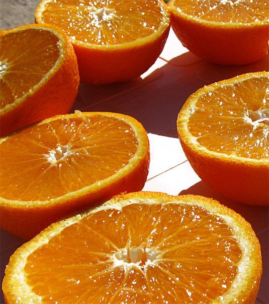 Naranjas cadeneras, de genuino y exquisito zumo